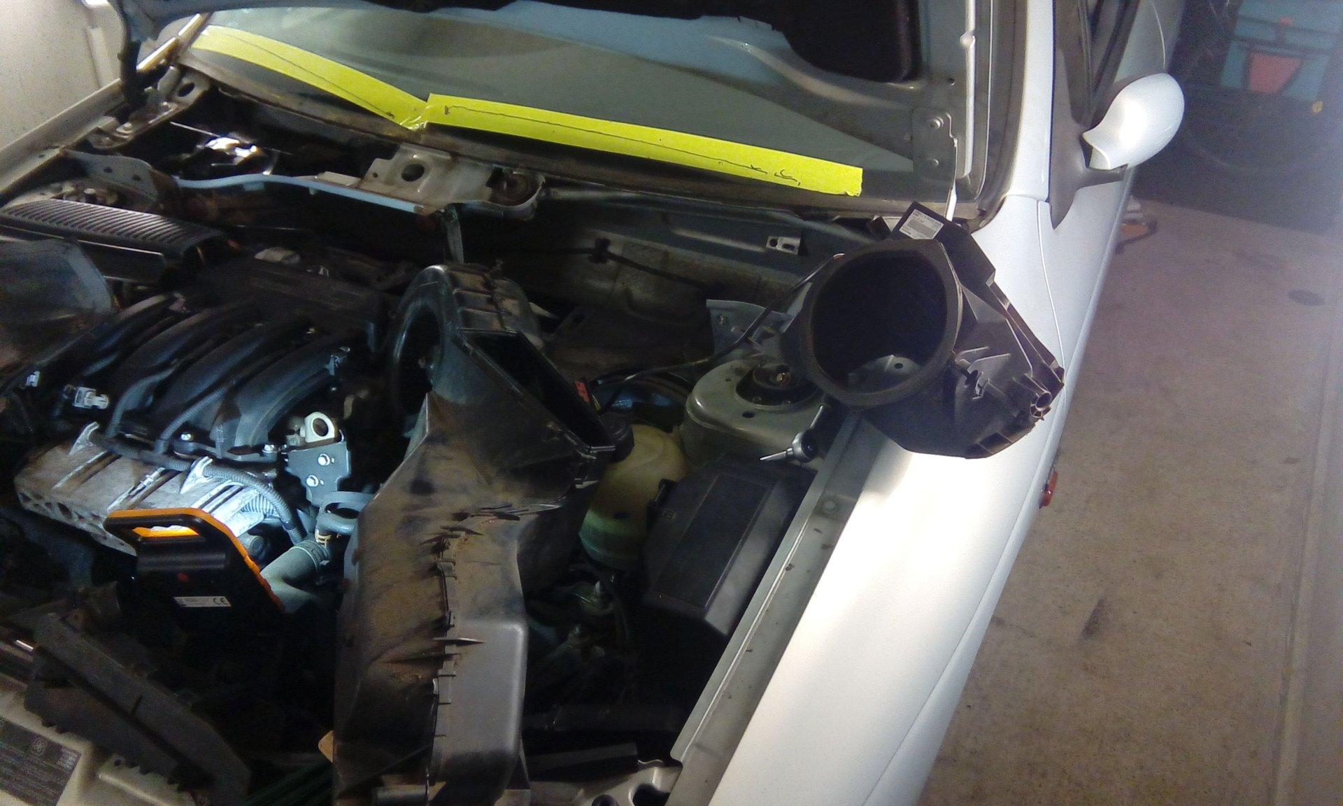 Megane 1 Geblasemotor Und Luftungsklappe