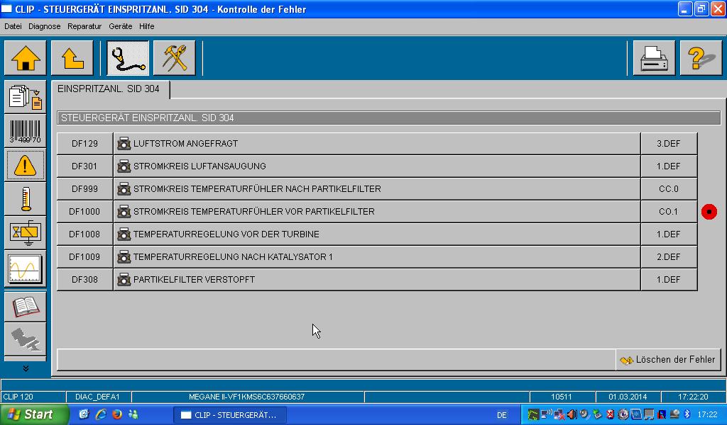 fehlercode p0544